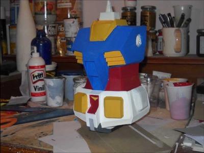 Gundam paper model (tutorial)