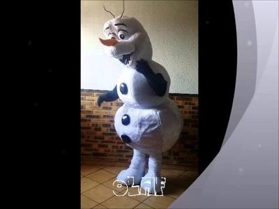 OLAF Mascotte Costume