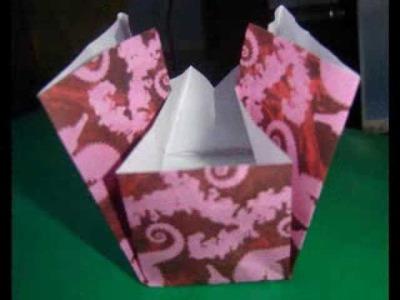 Origami bolsita