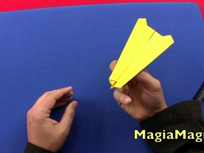 Paper  airplanes tutorial Aereo di Pandora