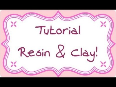 DIY Polymer clay & resin: ciondoli abbinati (resin charms) -parte 2