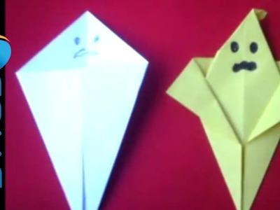 Fare un fanstasma con gli origami per Halloween