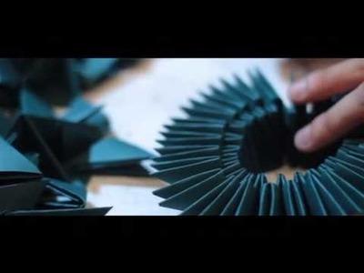 Gli origami di Uros Mihic