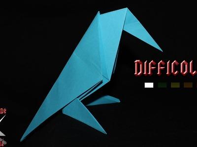 [ORIGAMI ITA] Corvo Sul Trespolo - Animali.Origami Facili o Per Bambini