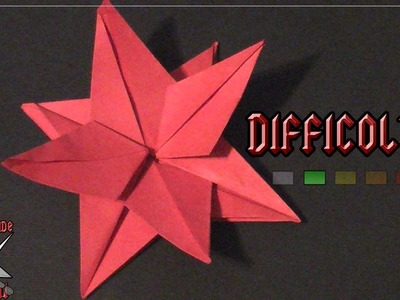 [ORIGAMI ITA] Fiore Stella Di Natale || Origami di Natale