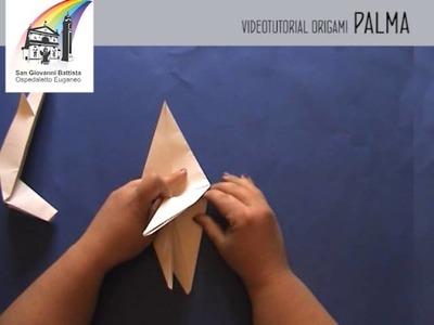 Videotutorial origami palma