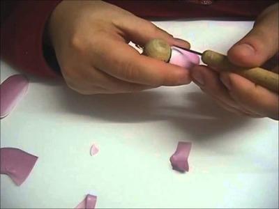 Polymer clay tutorial: kokeshi doll
