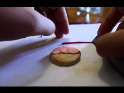 Tutorial FIMO: Cookie Kawaii. Polymer Clay charm