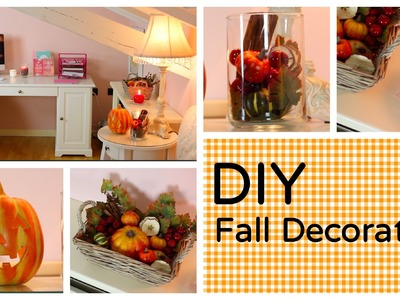 DIY Fall Decoration: l'Autunno in casa