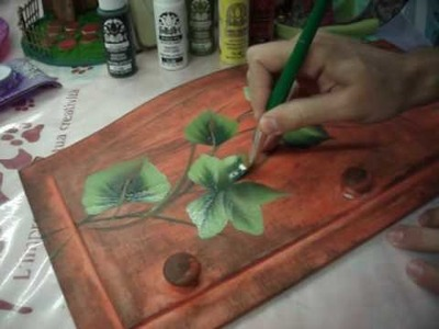 One Stroke Painting - Luca Sansone - Edera rustica
