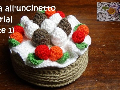 Torta all'uncinetto tutorial (parte 1)