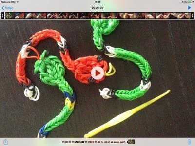 Bracciale con elastico Snake