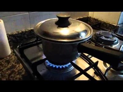 """Tutorial 1 • come cuocere il fimo e il cernit """"cottura a bagnomaria"""""""