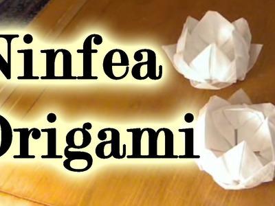 Tutorial origami: il fiore di ninfea