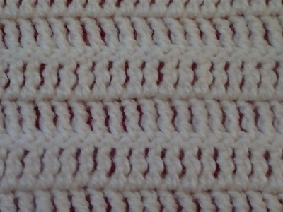 Crochet: Punto Alto Doble ( Treble crochet)