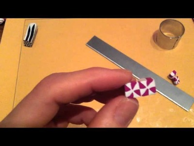 Fimo: tutorial murrina retrò