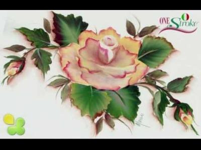 """One Stroke """"La Rosa"""" di Marzia Di Somma"""