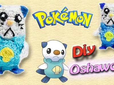 3DSimo: Pokémon Oshawott 3D Printing Pen Creations DIY Tutorial