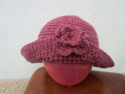 Crochet Uncinetto tutorial Cappellino