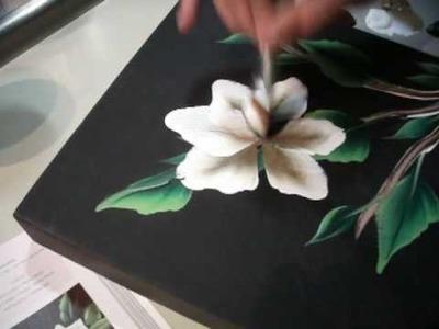 One Stroke Painting - Luca Sansone - La Magnolia