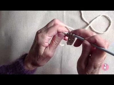 Punto medio crochet