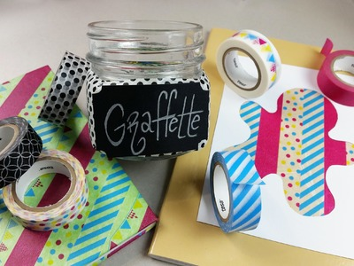 TUTORIAL: 3 idee BACK to SCHOOL con DECOTAPE tesa®