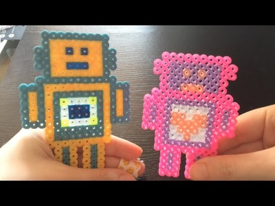 Tutorial- Robot con SUPERPOTERI in HAMA BEADS o PYSSLA