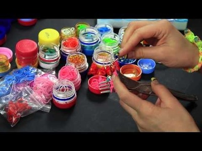Video Tutorial Rainbow Loom - Stella di Natale - Bracelet flower Full HD ITA