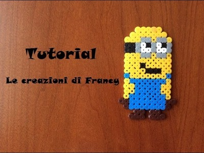 Tutorial Minion con Pyssla.Hama Beads