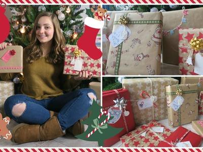 DIY! Idee per INCARTARE i REGALI di Natale! | Gemminamakeup