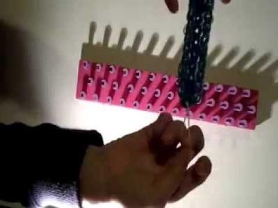 Elastici elasticolor: tutorial bracciale triplo