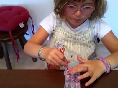 Tutorial braccialetti con elastici