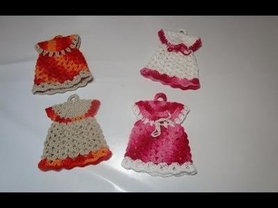 Crochet presina uncinetto vestitino