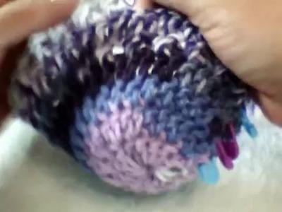 Manta sirena parte 1 a crochet (ZURDO)