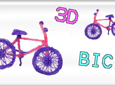 3DSimo:Come fare una Bici con la 3D Pen | Bicycle 3D Printing Pen