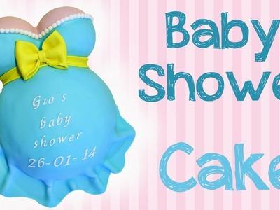 Come decorare la torta per il baby Shower (Sub ENG)