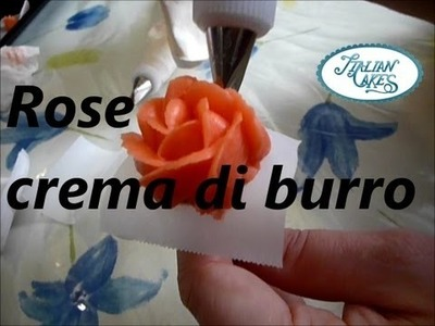 Decorazioni rose in crema di burro (butter cream roses) by ItalianCakes