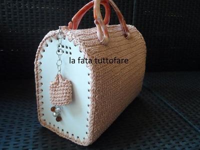Tutorial : borsa bauletto all'uncinetto