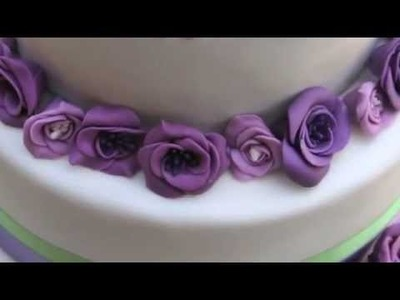 Tutorial torta decorata con fiori