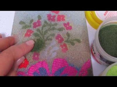 Video Corso: Tegola merlè effetto dipinto : progetto di Letizia Barbieri