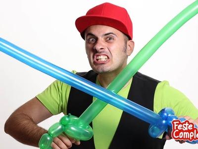 Balloon Pirate Sword - Palloncini modellabili Spada Pirata - Tutorial 01 - Feste Compleanni