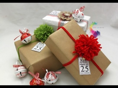 Come impacchettare i regali di Natale-Packaging Tutorial-Wrapping Tutorial