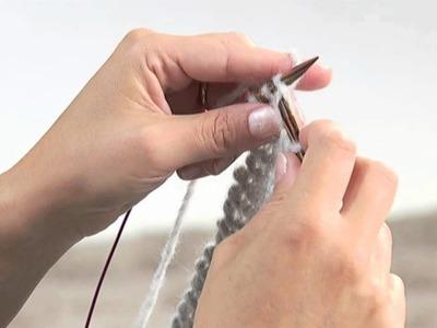 Realizzare una sciarpa a maglia.3 Presenta Emma Fassio