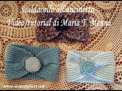 Scaldacollo all'uncinetto Crocheted neck warmer
