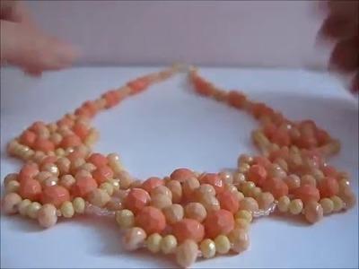 Creazioni | Orecchini in Tessitura di Perline, Girocolli con Cipollotti
