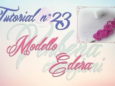 Chiacchierino ad Ago: TUTORIAL 23 – Modello Edera