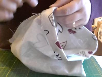 Tutorial porta sacchetti Cucito creativo