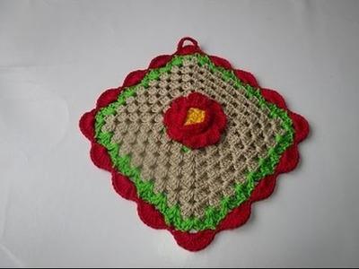 Uncinetto Crochet  Presina Square tutorial passo a passo