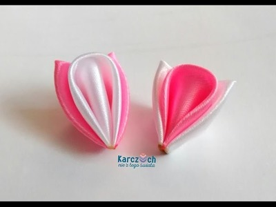 Kanzashi #17 - Triple petal
