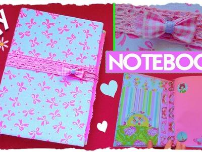 Tutorial: Notebook con copertina in stoffa | Riciclo Creativo | Collab. LadyGiorgia